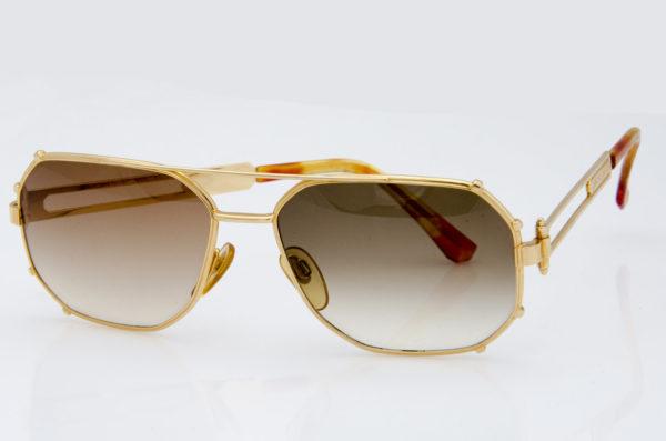 gerald genta, sunglasses,vintage,gold,unique, γυαλιά ηλίου