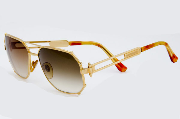 gerald genta sunglasses gold