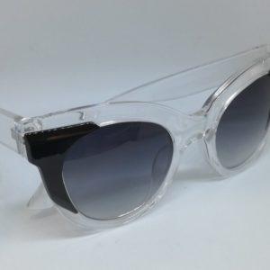 Jak & Jil Cat Eye Fashion Women Sunglasses UV 400 Transparent