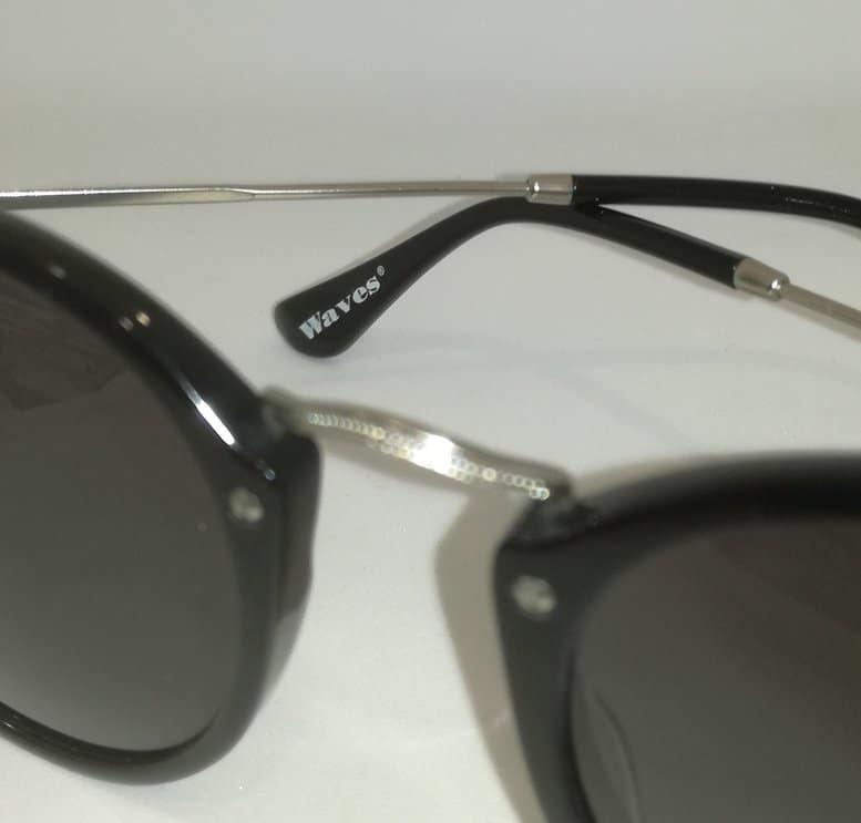 Waves,Women,Vintage,Sunglasses