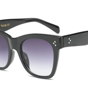 Waves,Cat,Eye,R97266,Women,Sunglasses,Black,Linda,Amalfi