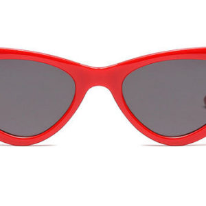 Waves,CatEye,Women,Vintage,Sunglasses,Red