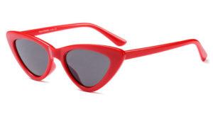 Waves,CatEye,Women,Vintage,Sunglasses,Red