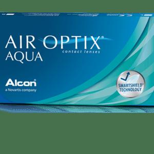 Μηνιαίοι Φακοί Επαφής Air Optix Aqua 3pk
