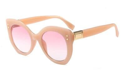 Waves,F95117,Silver,Series,Cateye,Women,Sunglasses