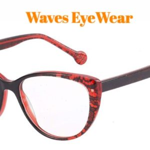 Waves,A16372,Cateye Women,Acetate Frame