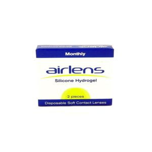 Airlens,Silicone Hydrogel,Monthly Contact Lens,2pk