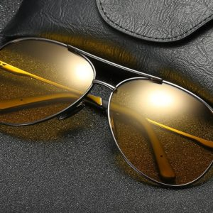 Waves Polarized Pilot Sunglasses