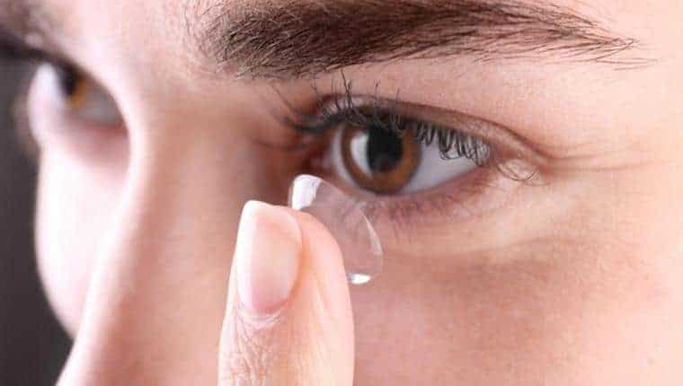 Contact lenses and COVID-19